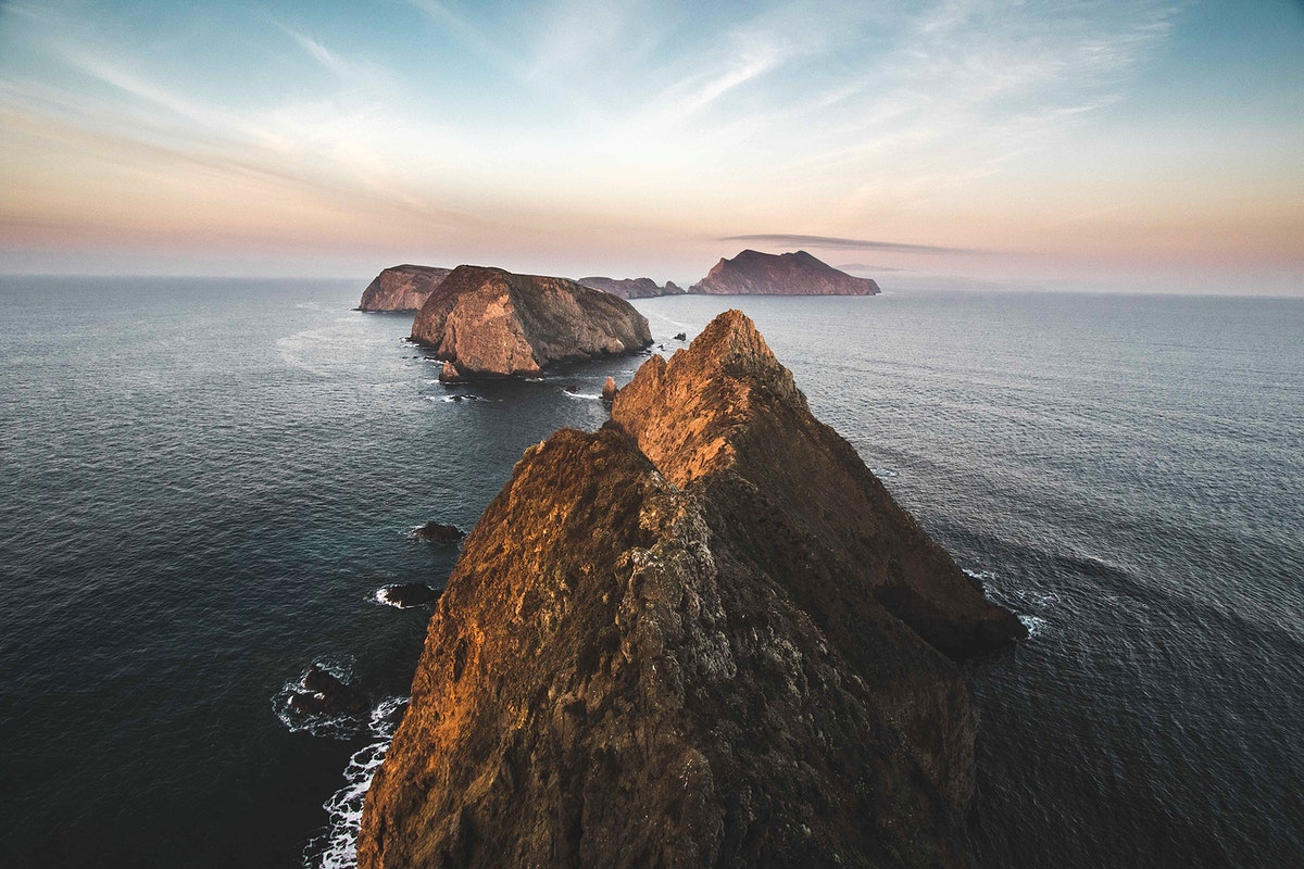 Coastline of Big Sur, California