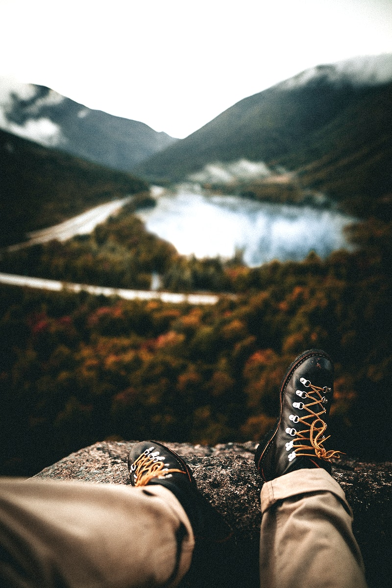Relaxing time with rural nature