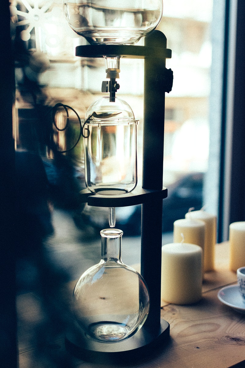 Siphon coffee makers