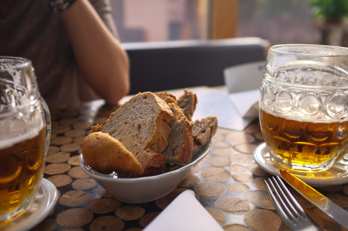 Beer and bread
