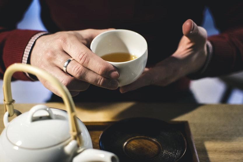 Drinking Tea Dehydrate