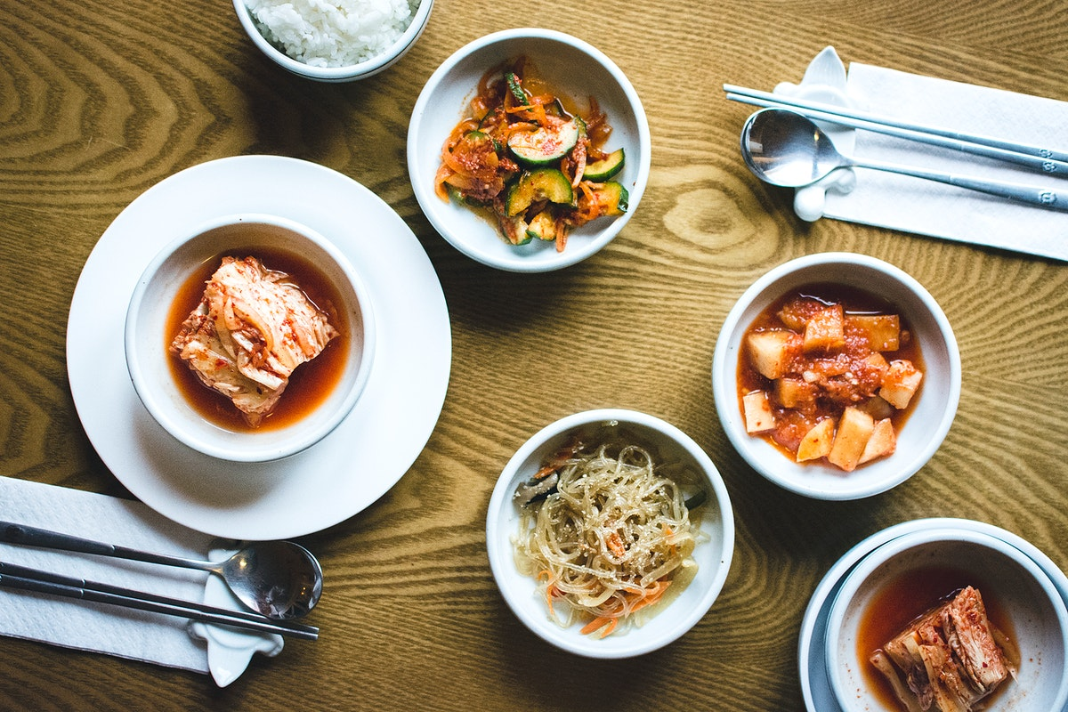 Different types of Kimchi