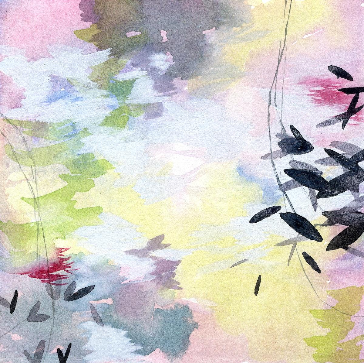 Botanical abstract fine art print