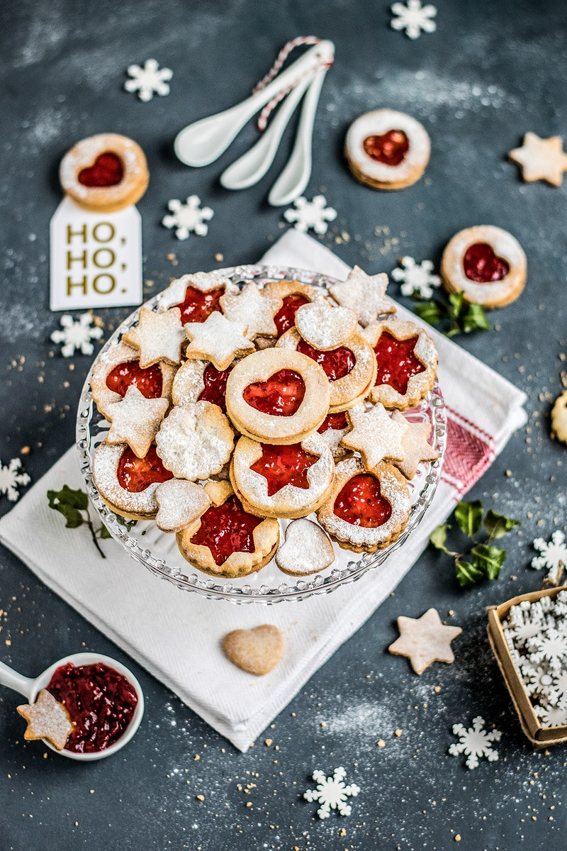 Christmas cookies for the holidays. Visit Monika Grabkowska to see more of her food photography.