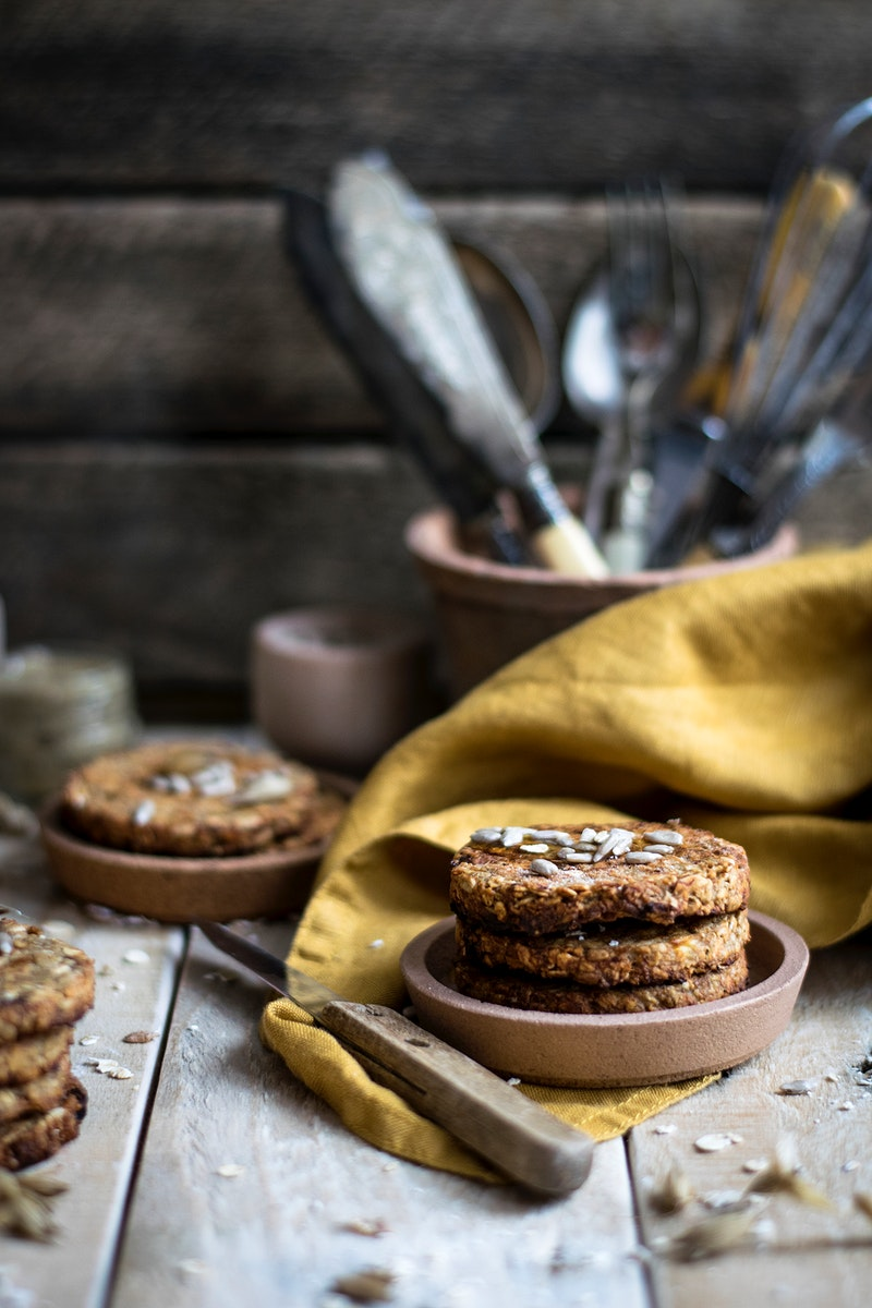 Homemade oatmeal cookies for breakfast. Visit Monika Grabkowska to see more of her food photography.