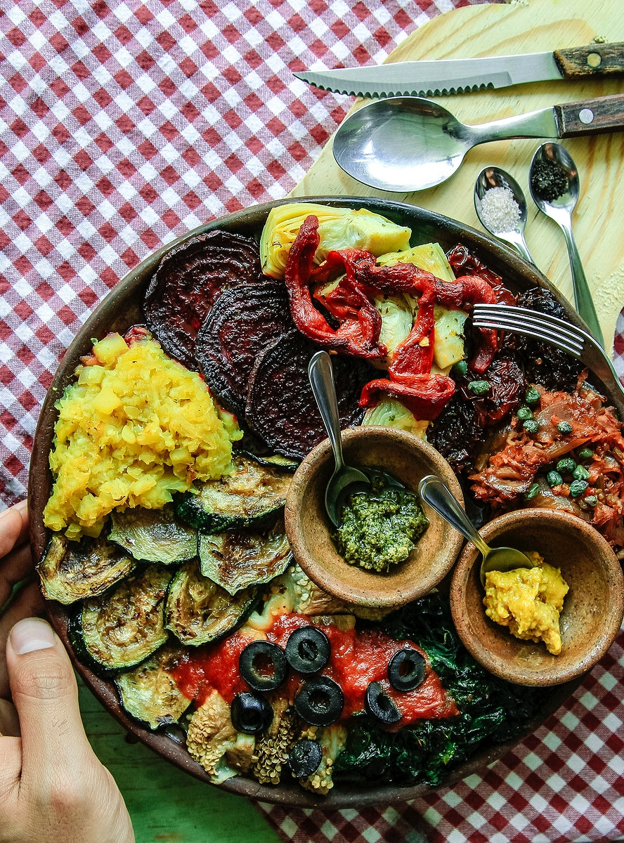 Guatemalan BBQ veggie