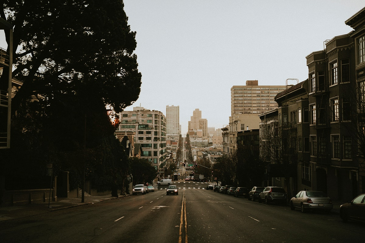 View of road in San Francisco