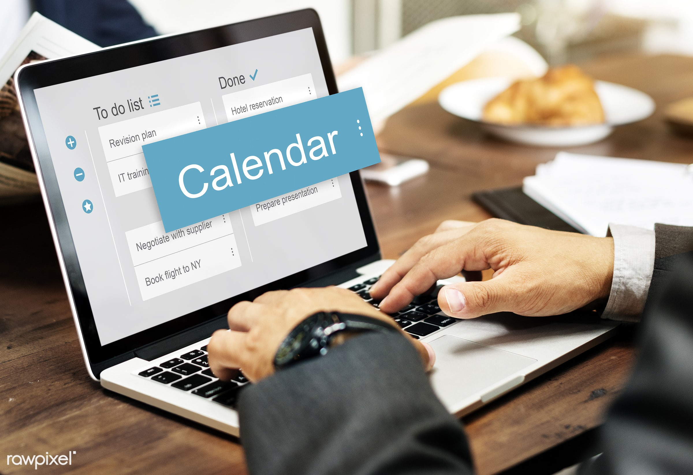calendar, agenda, app, appointment, browse, business, businessman, cafe, checklist, corporate, device, digital, digital...