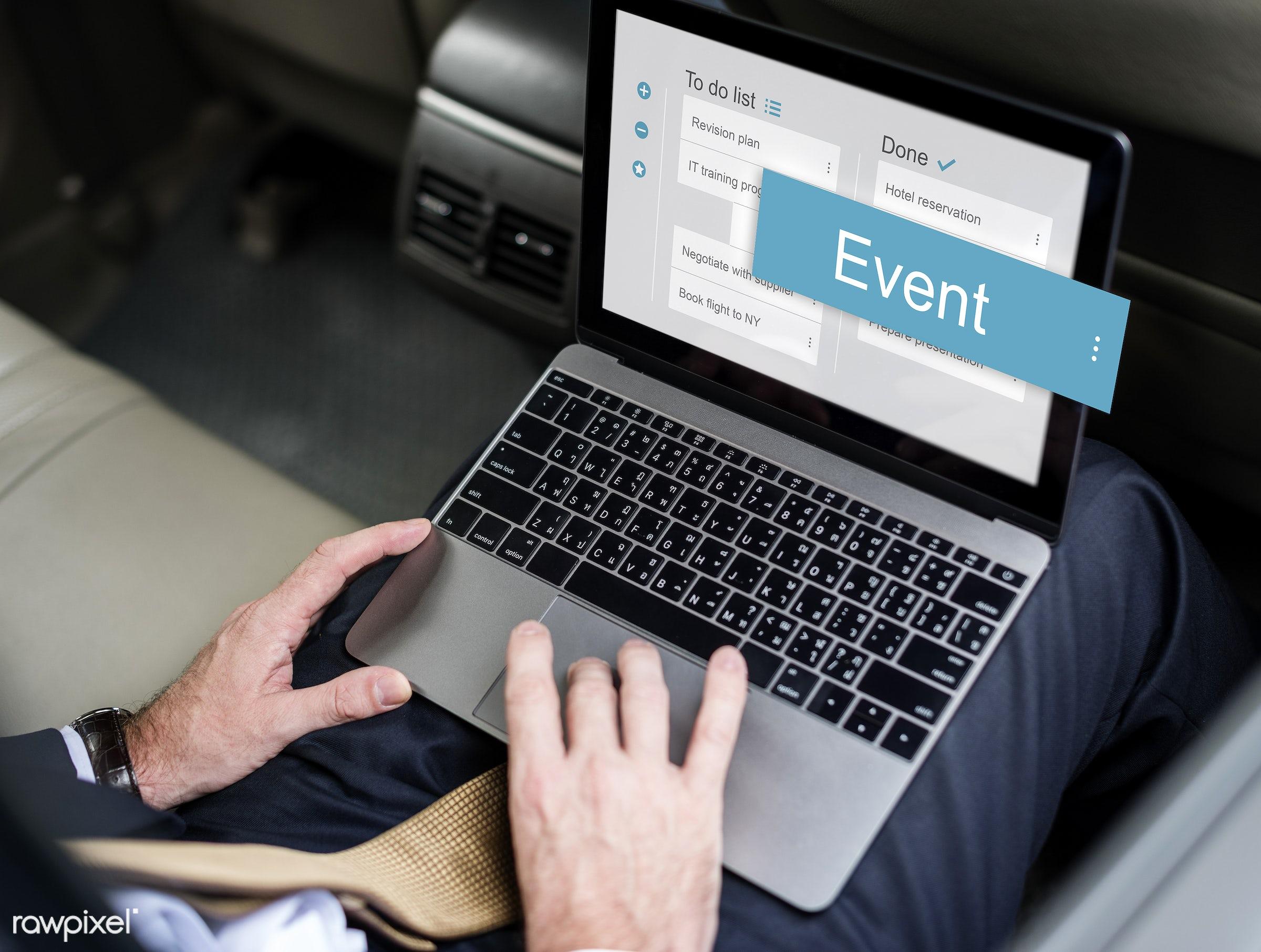 agenda, app, appointment, business, calendar, checklist, corporate, digital, events, interface, list, management, organize,...