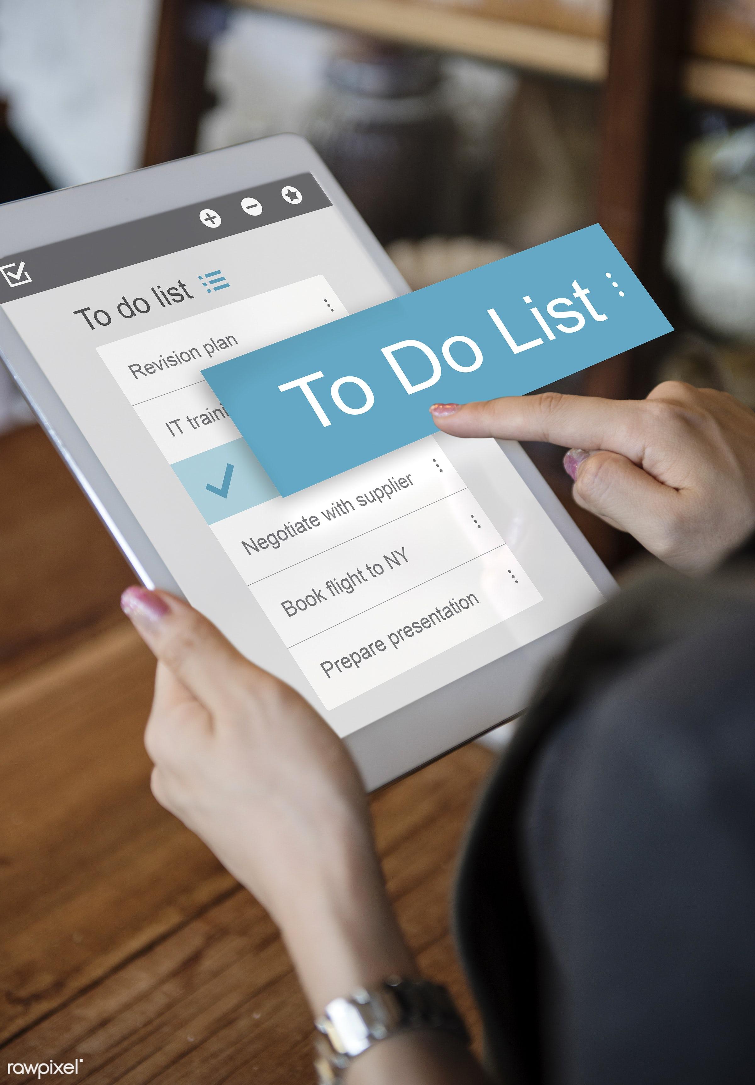 schedule, internet, list, agenda, app, appointment, business, calendar, candid, checklist, choose, communication, connection...