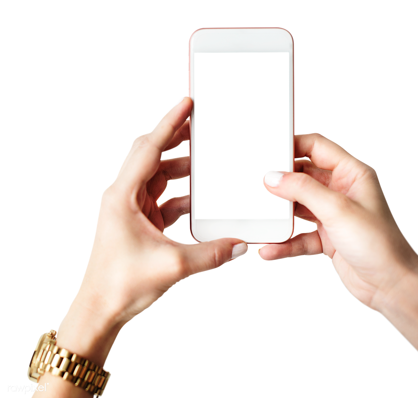 Hand With A Phone Mockup Png Royalty Free Stock Transparent Png