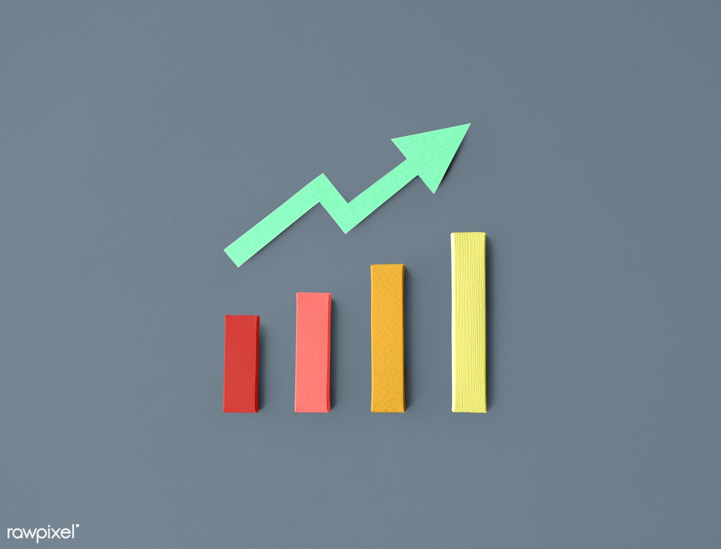 increase, accounting, arrow, chart, growth, market, achievement, bar, business, economic, financial, graph, grow,...