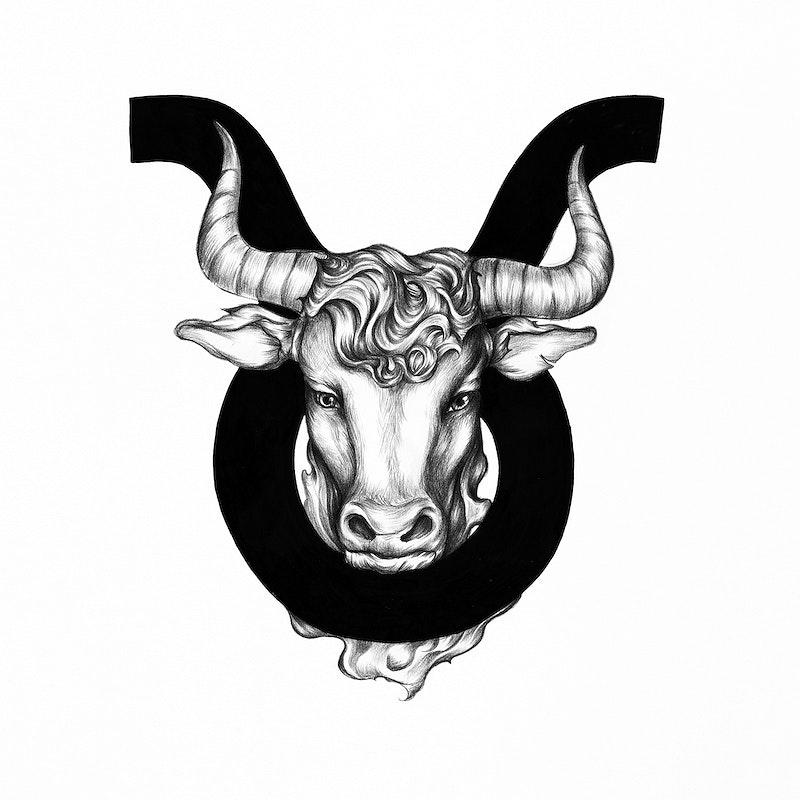 Hand Drawn Horoscope Symbol Of Pisces Illustration Id 521061