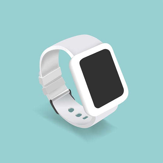 Vector of a smart watch