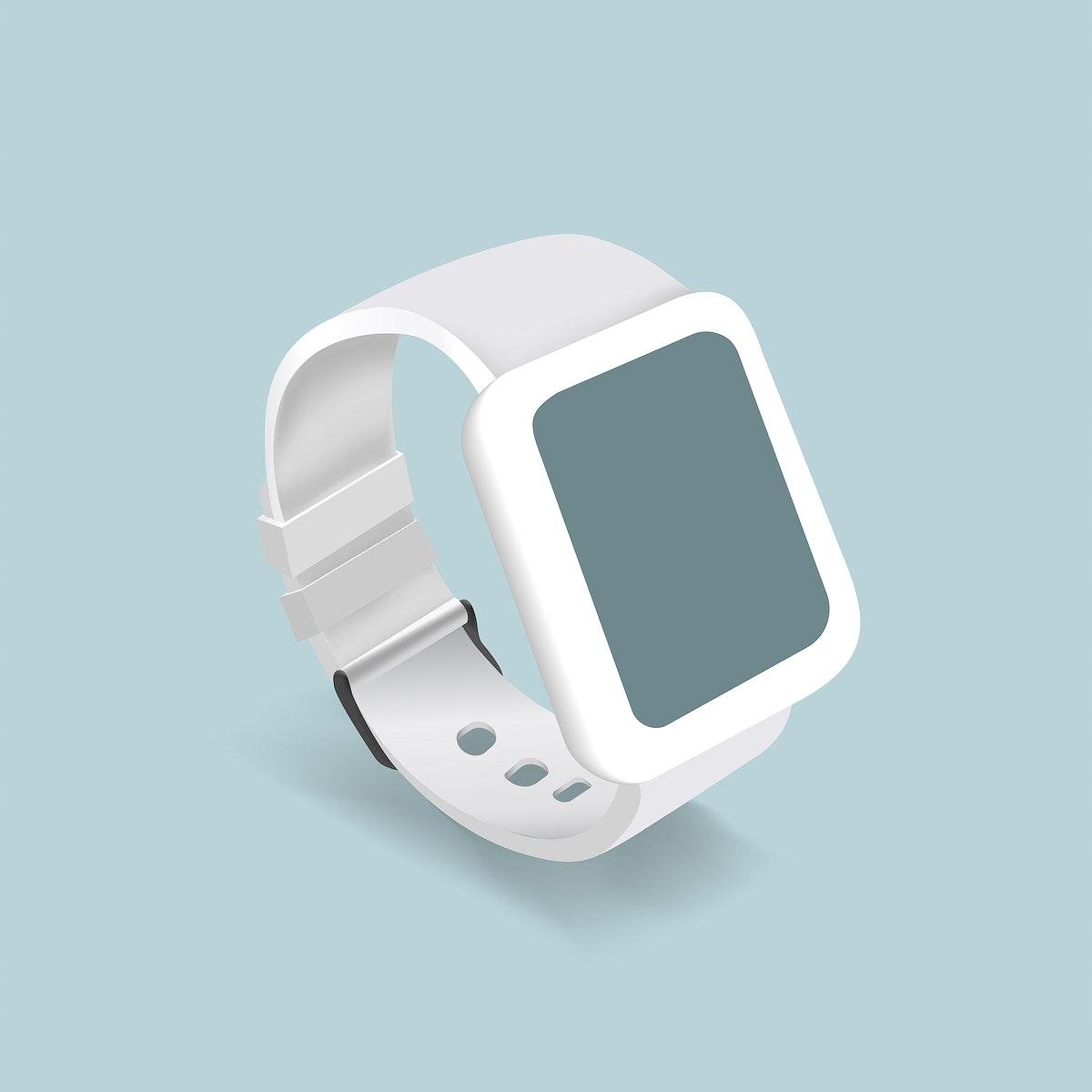 Vector of a smart watch