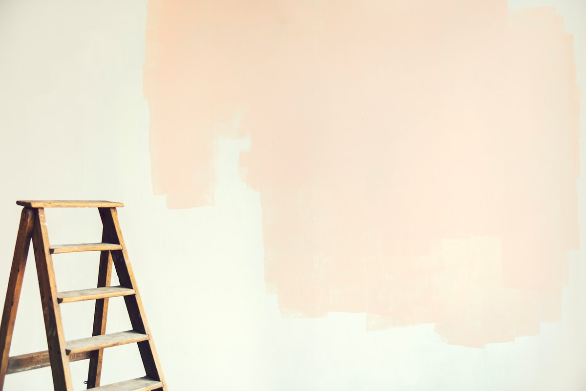 Home makeover with a new color