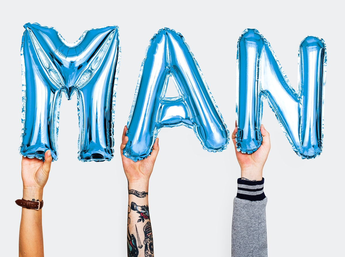 Hands showing balloons word
