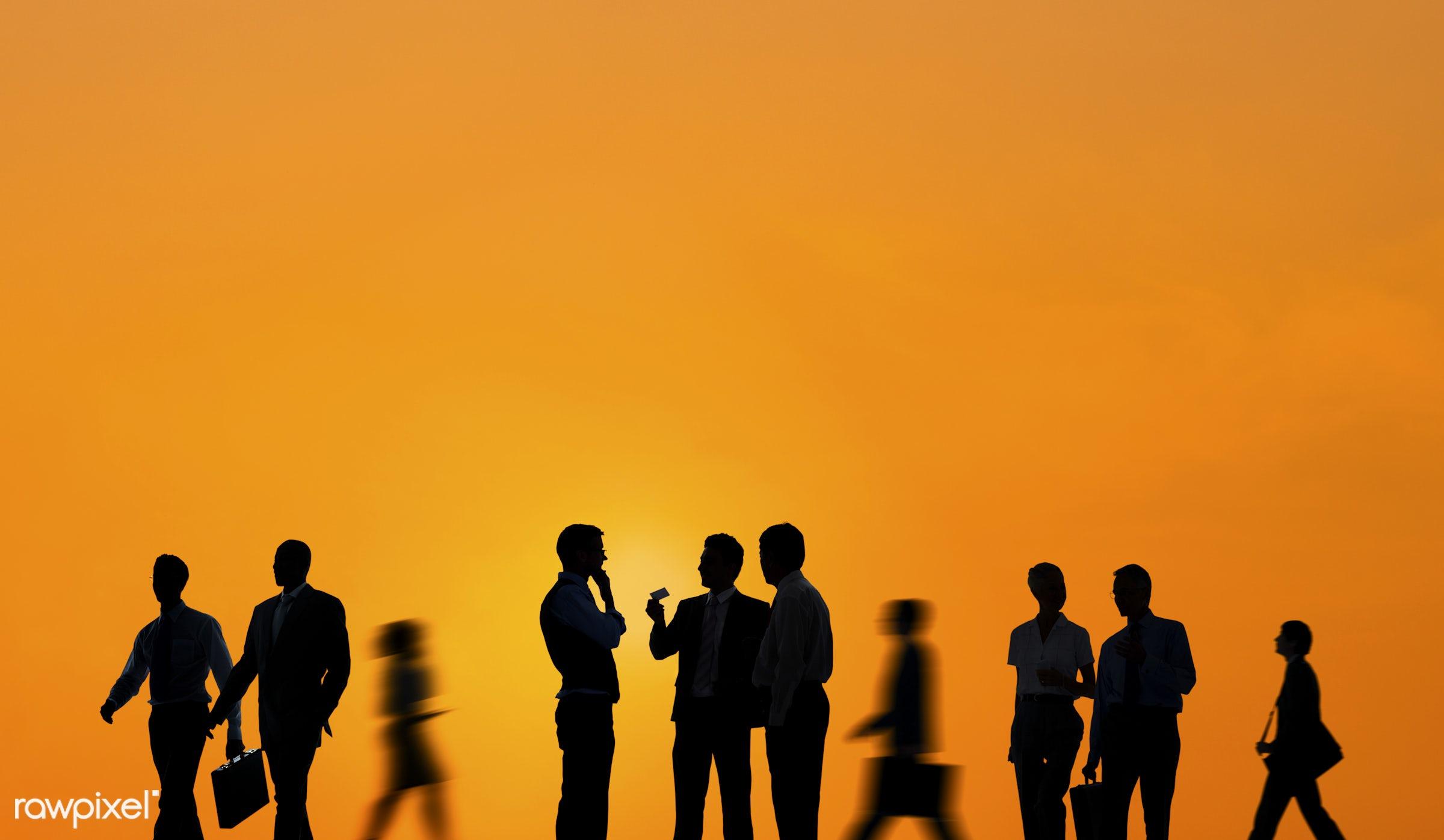 backlit, business, business people, businessmen, businesswomen, collaboration, colleague, commuter, copy space, corporate,...