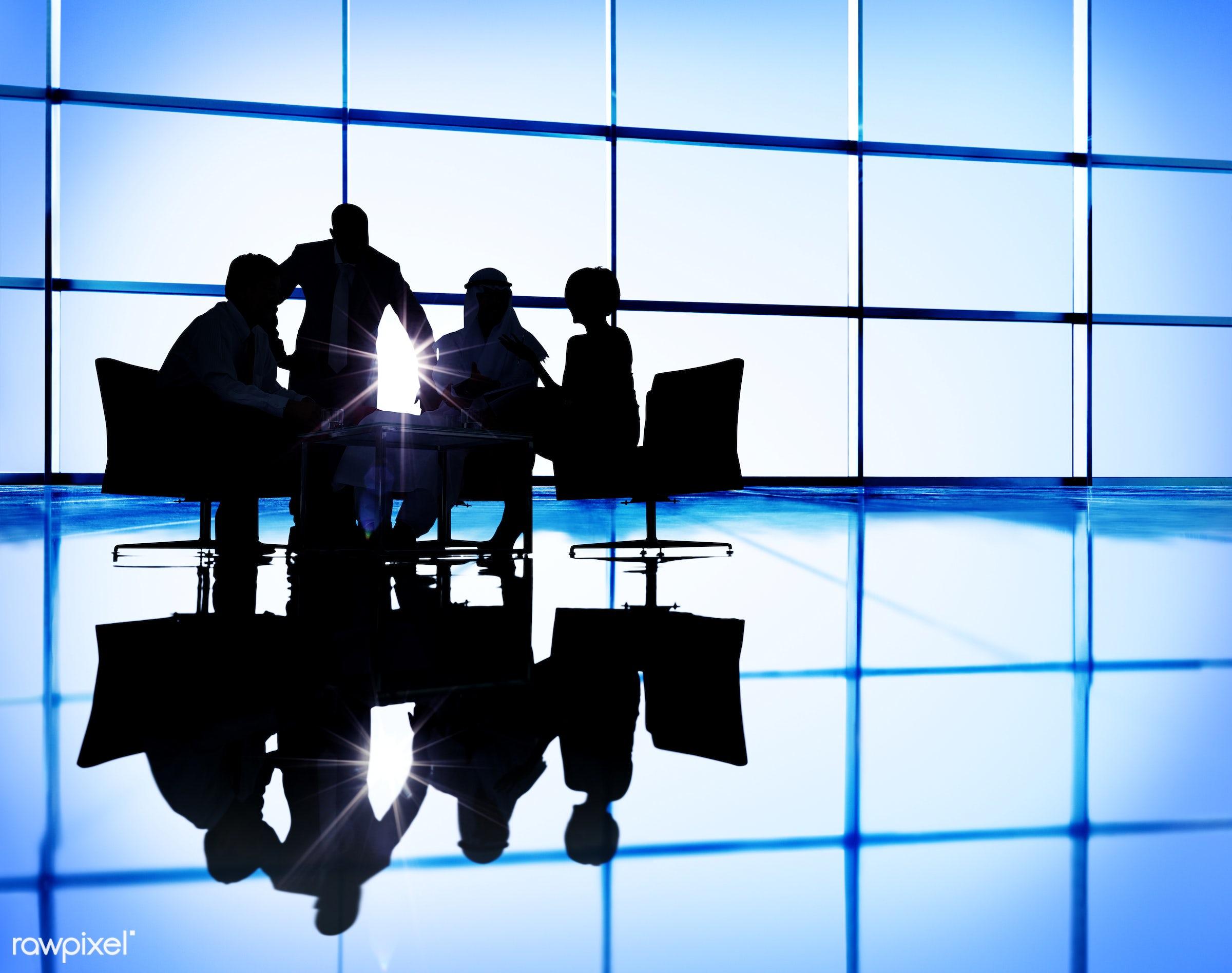 agreement, backlit, boardroom, brainstorming, business, business people, businessmen, businesswomen, collaboration,...