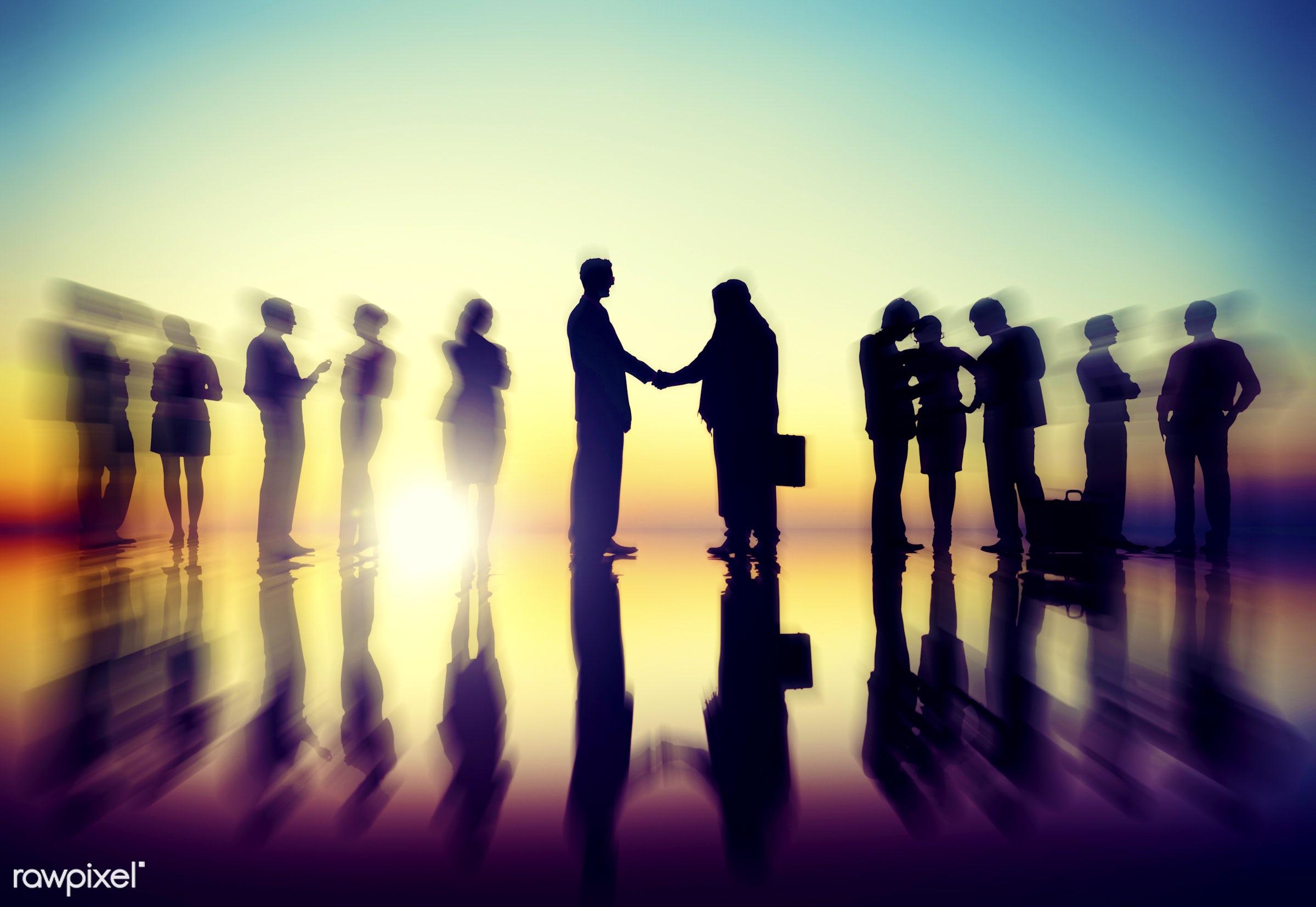 agreement, backlit, brainstorming, business, business people, businessmen, businesswomen, collaboration, colleague,...