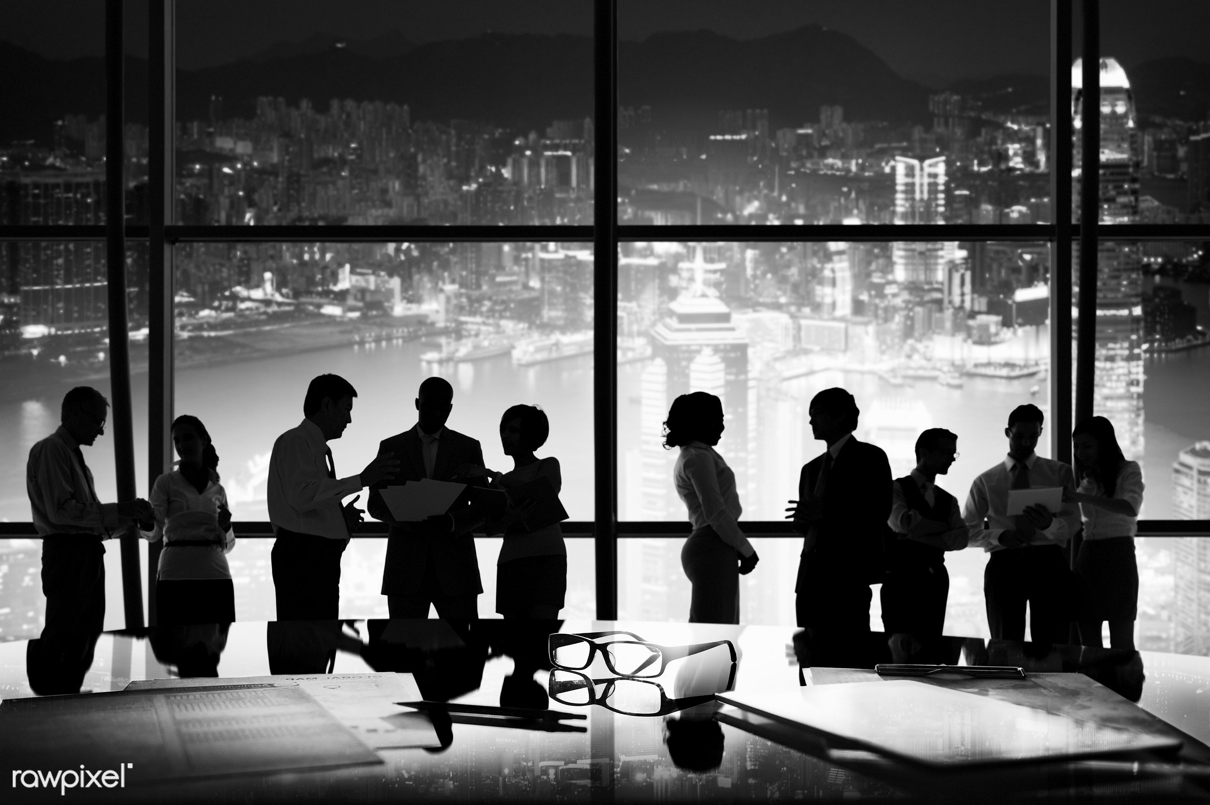 white, black, board room, brainstorming, building interior, business, business people, business person, businessman,...