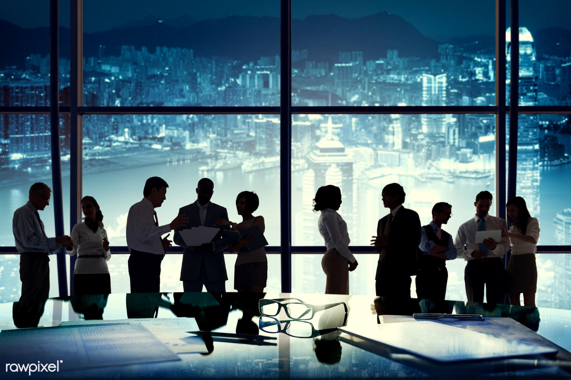 black, board room, brainstorming, building interior, business, business people, business person, businessman, businesswoman...