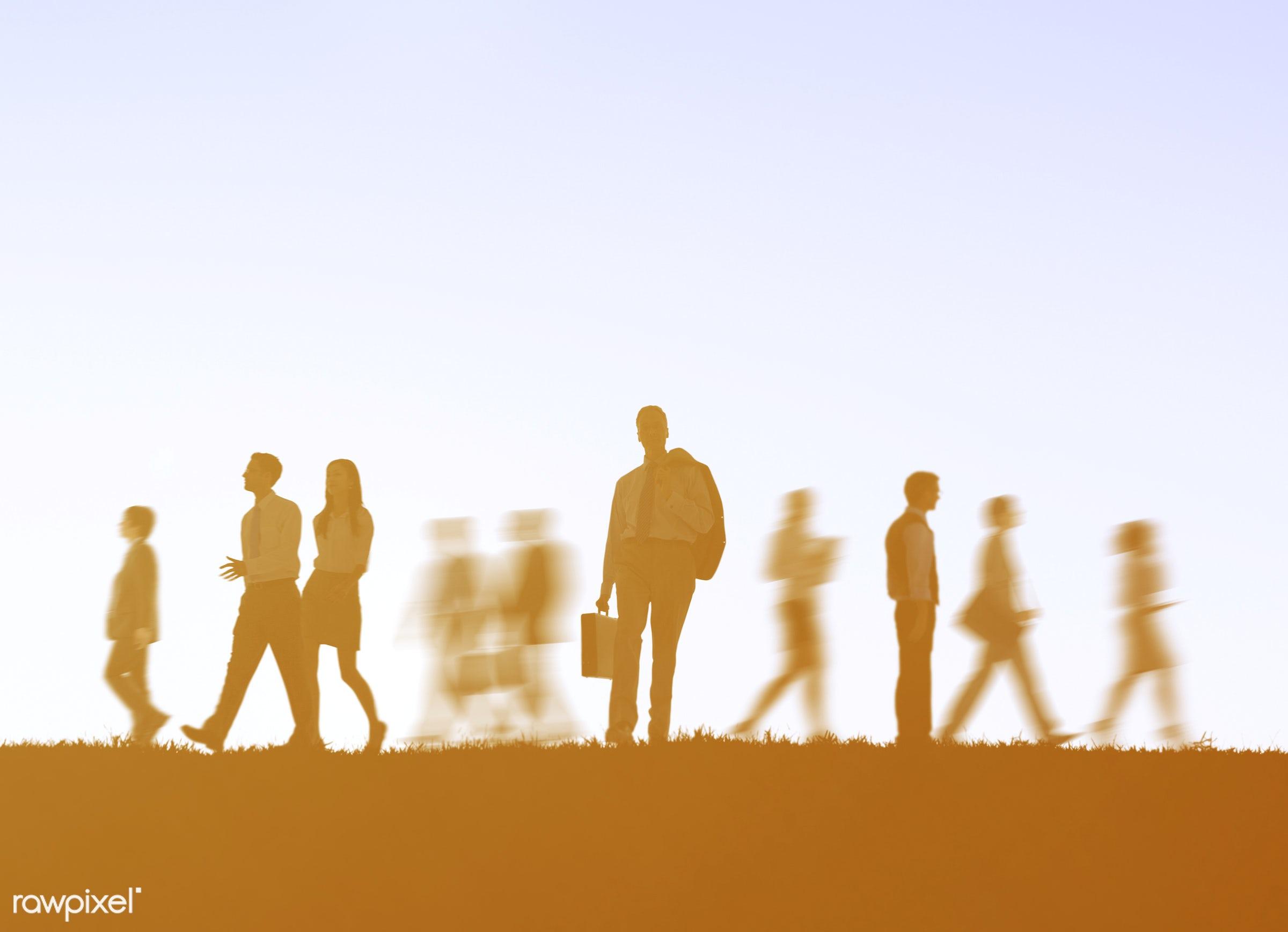 action, adult, associate, backlit, blurred, blurred motion, business, businessmen, businesswomen, busy, colleagues,...