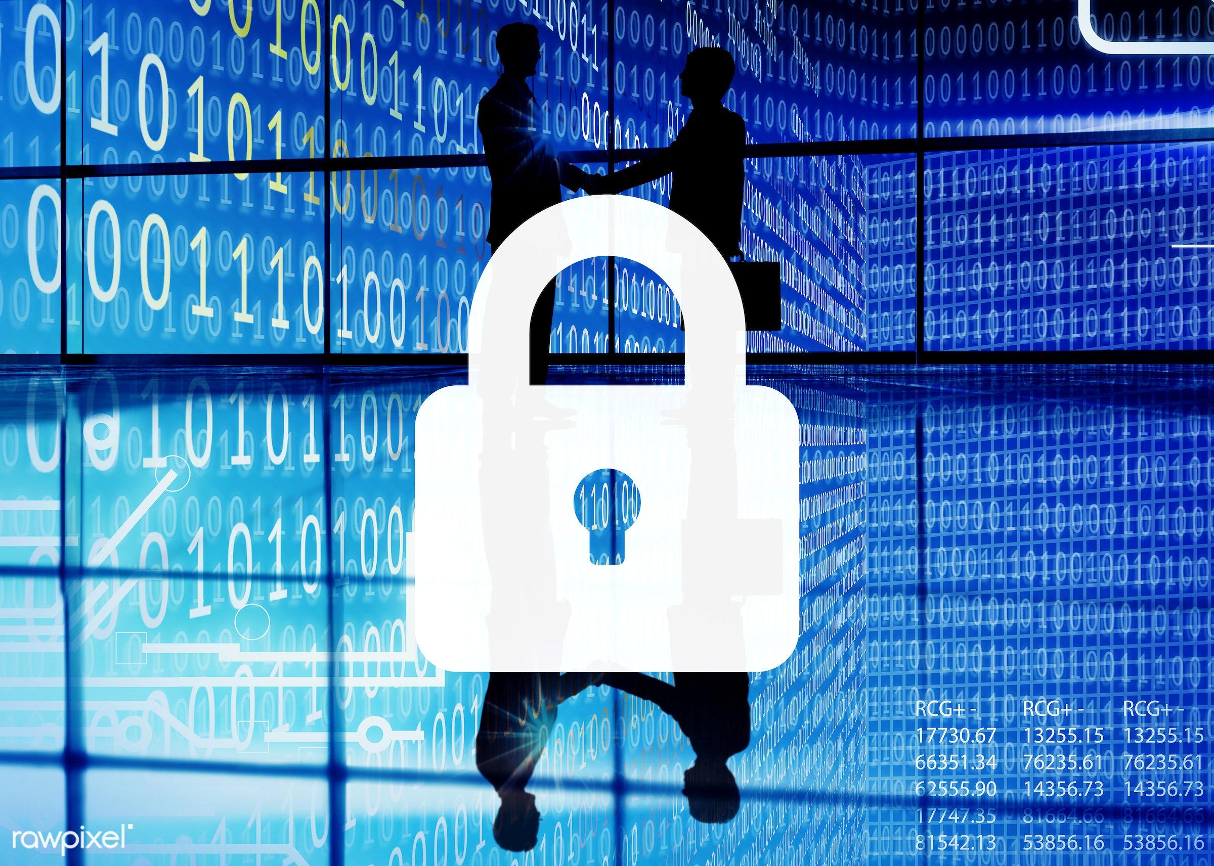 privacy, binary, safe, padlock, matrix, lock, business, secret, achievement, agreement, backlit, binary code, bit, business...