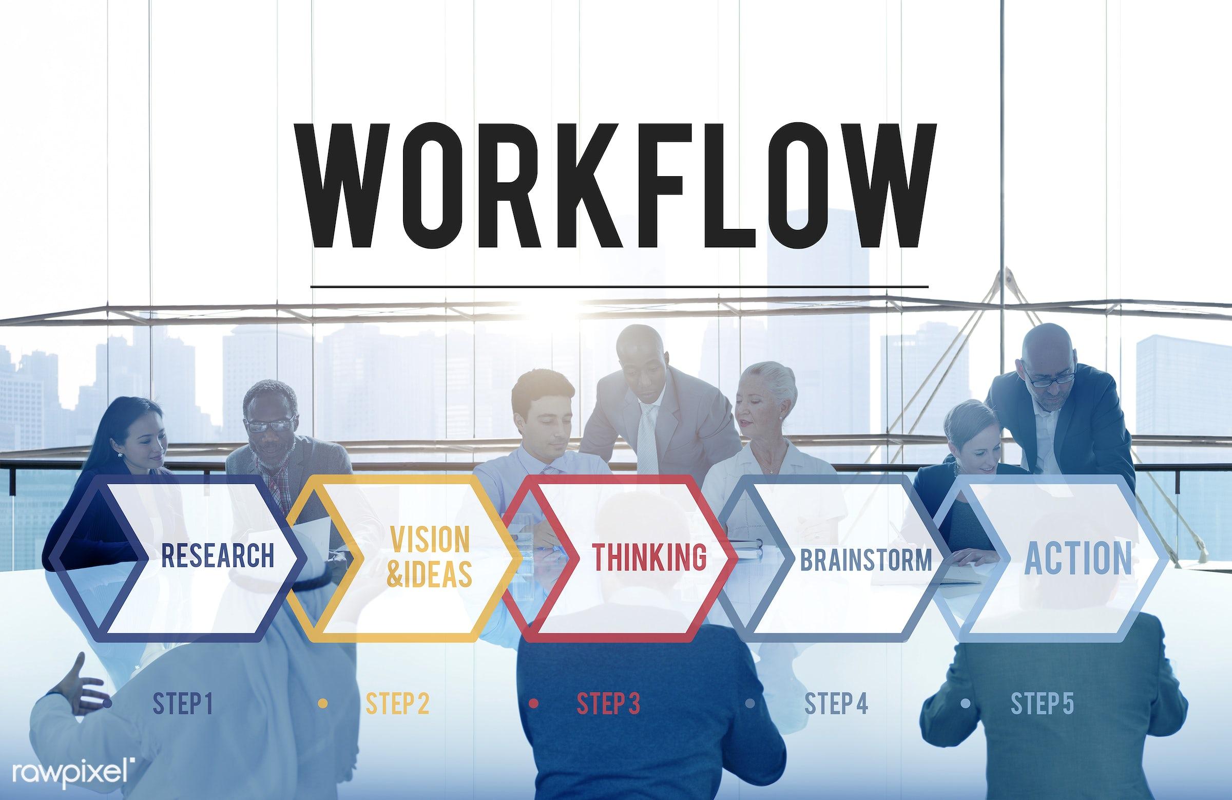 management, word, workflow, action, african descent, aim, analysis, asian ethnicity, backlit, brainstorm, brainstorming,...