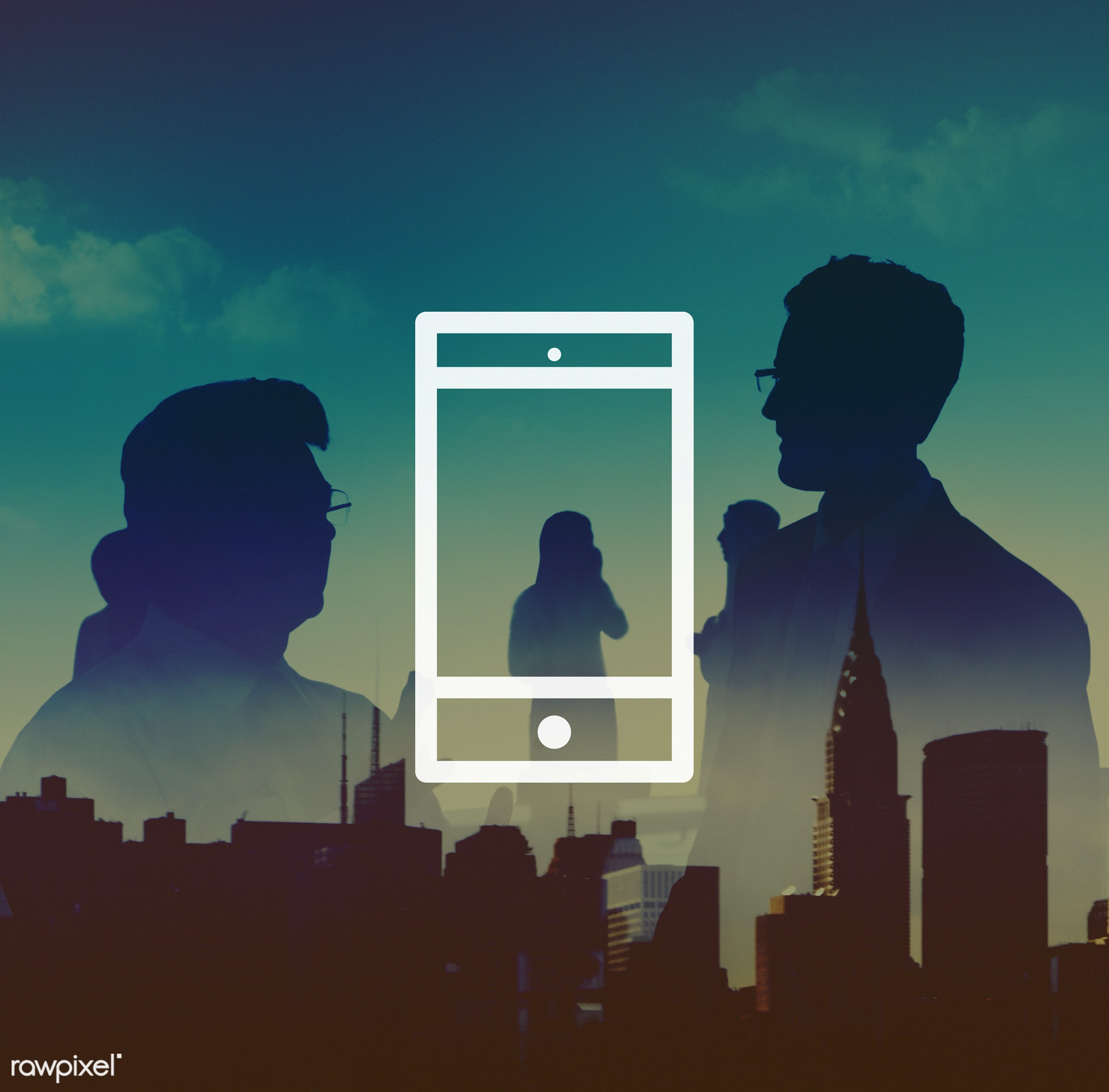 silhouette, brainstorming, building, business, business people, businessmen, businesswomen, cellphone, cellular, cityscape,...