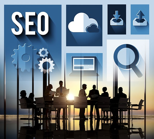 SEO Internet Online Optimization Search Technology Concept