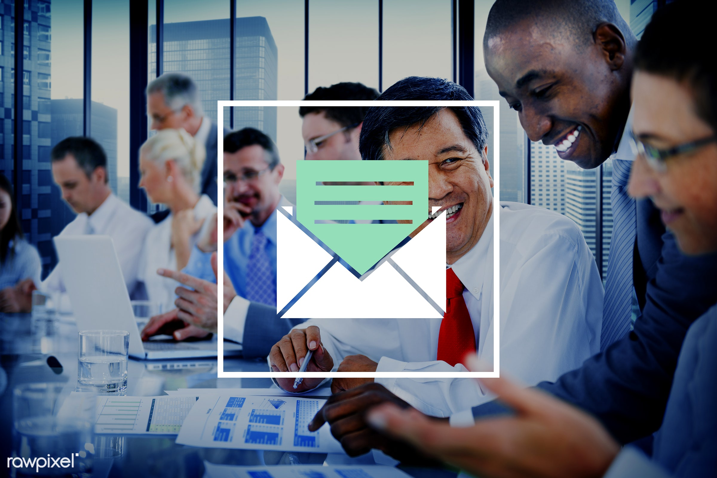 newsletter, address, african descent, asian ethnicity, brainstorming, business, business people, businessmen, businesswomen...