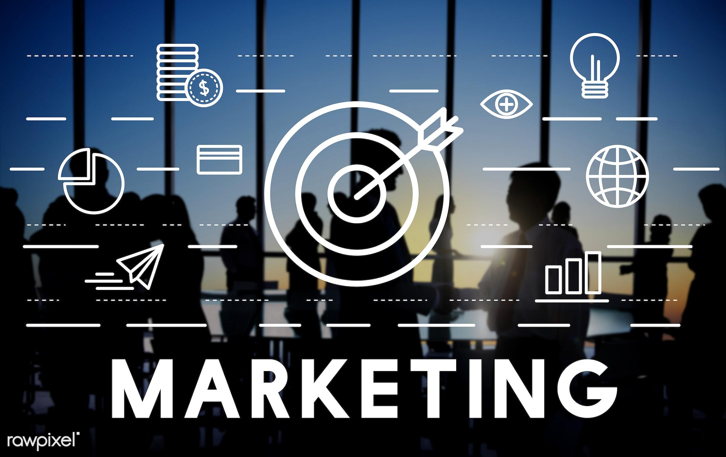 advertising, aim, aspirations, availability, back lit, branding, business, business people, businessmen, businesswomen,...