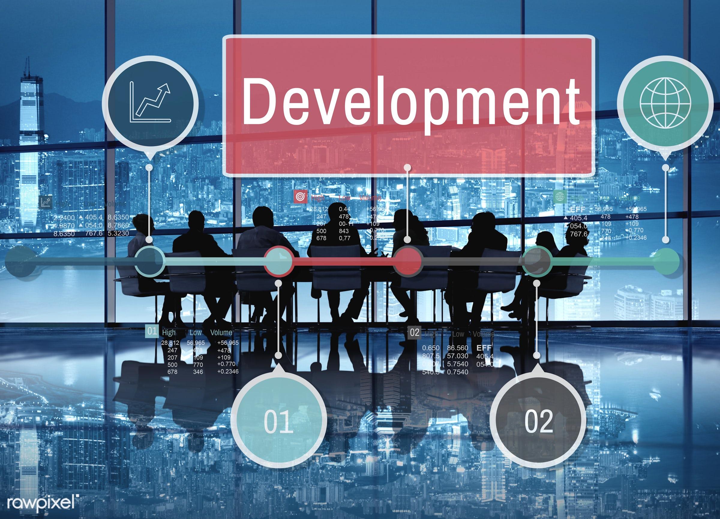 development, achievement, advance, analysis, arrow, building, buildup, business, business people, businessmen, businesswomen...