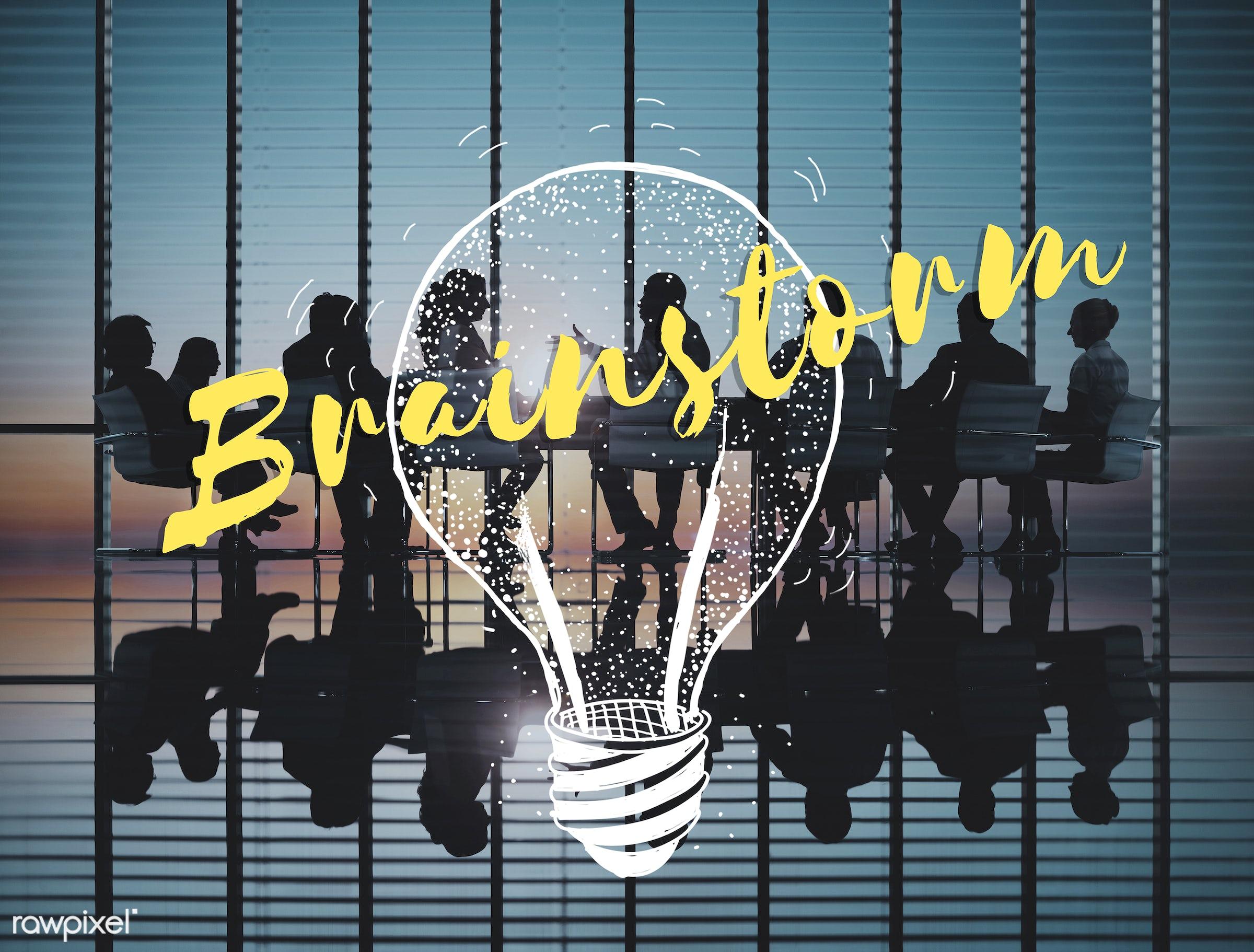 action, back lit, brainstorm, brainstorming, business, business people, businessmen, businesswomen, communication, concept,...