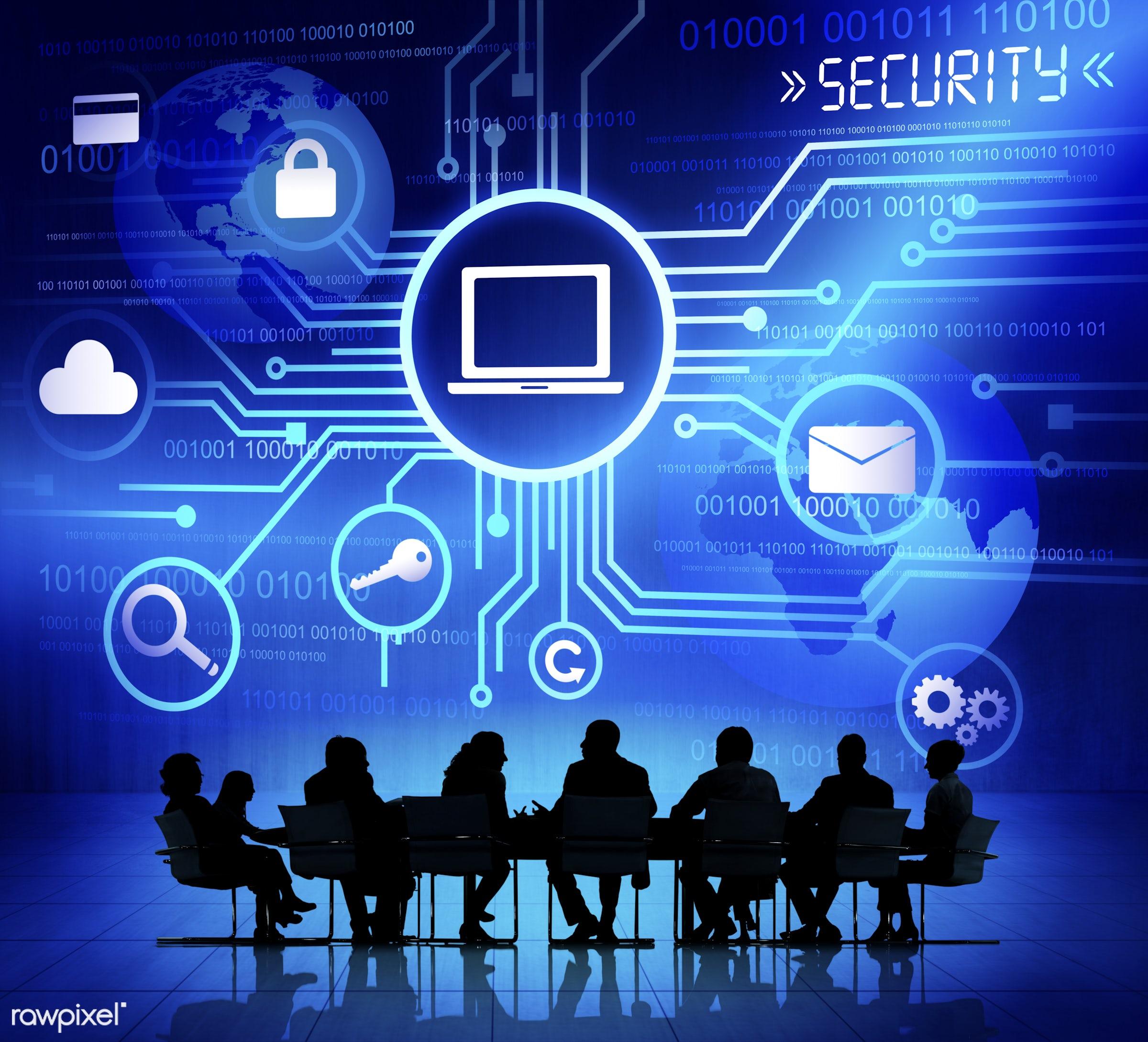 digitally generated image, asking, binary code, business, business people, business person, businessman, businesswoman,...