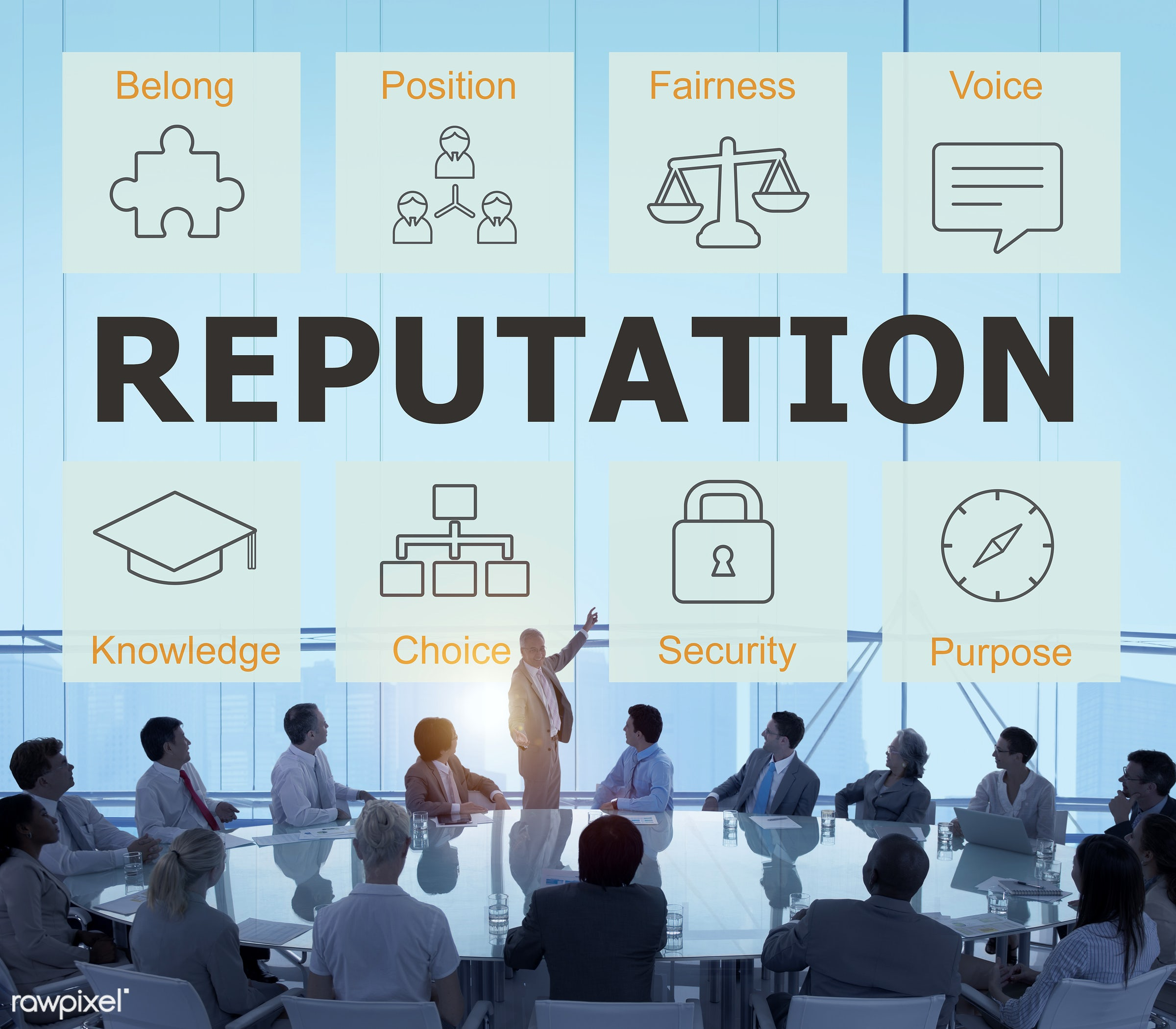 reputation, back lit, belong, brainstorming, business, business people, businessmen, businesswomen, choice, cityscape,...