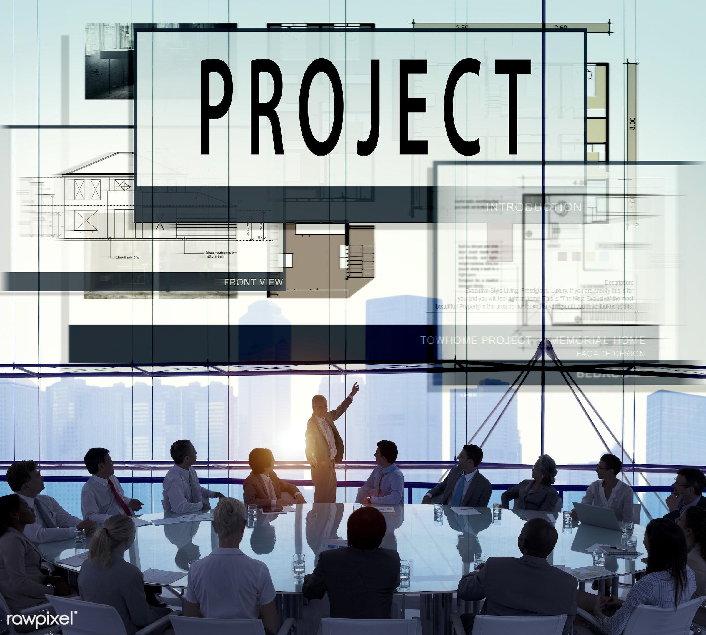 meeting, project, engineering, presentation, architecture, art, audience, backlit, blueprint, brainstorm, build, business,...