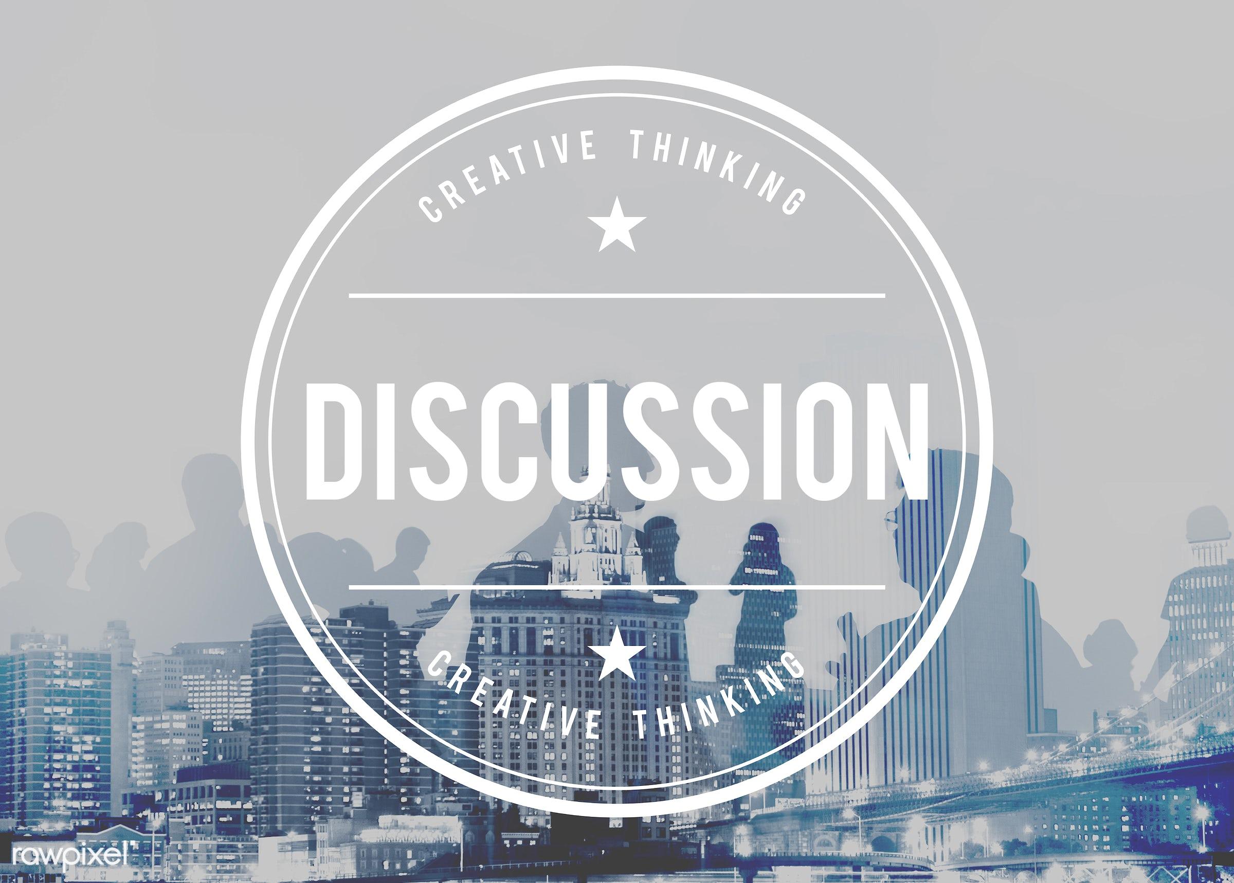 debate, abstract, arguing, argument, back lit, brainstorming, building, business, businessmen, businesswomen, city,...
