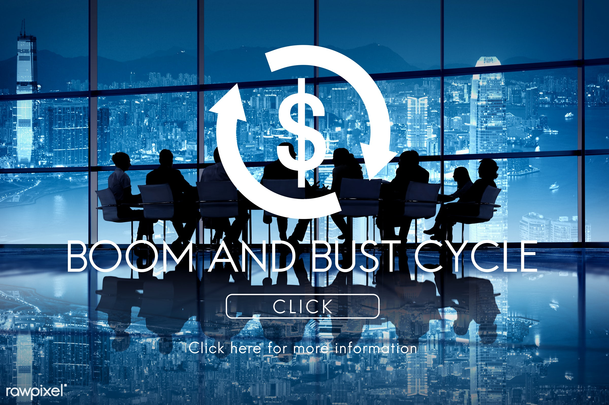 boom and bust cycle, building, business, business cycle, business people, businessmen, businesswomen, cityscape, click,...