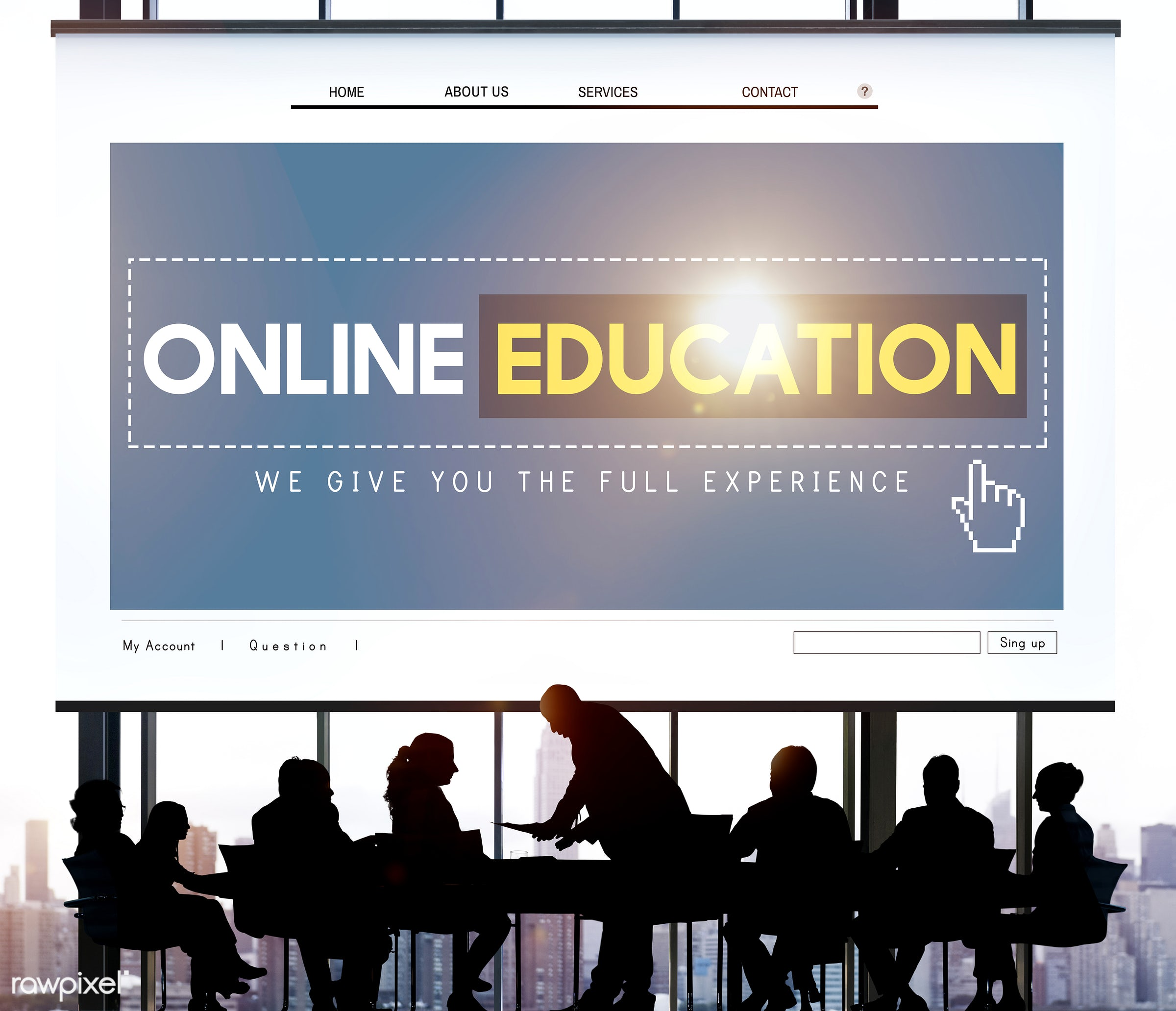 homepage, meeting, course, learning, presentation, back lit, brainstorming, business, business people, businessmen,...