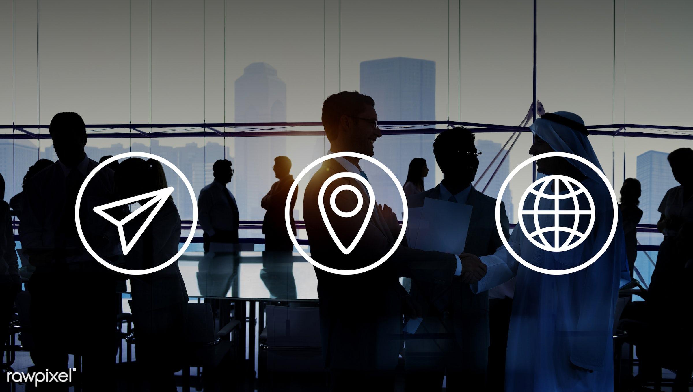 communication, world, agreement, back lit, brainstorming, business people, businessmen, businesswomen, colleague, corporate...