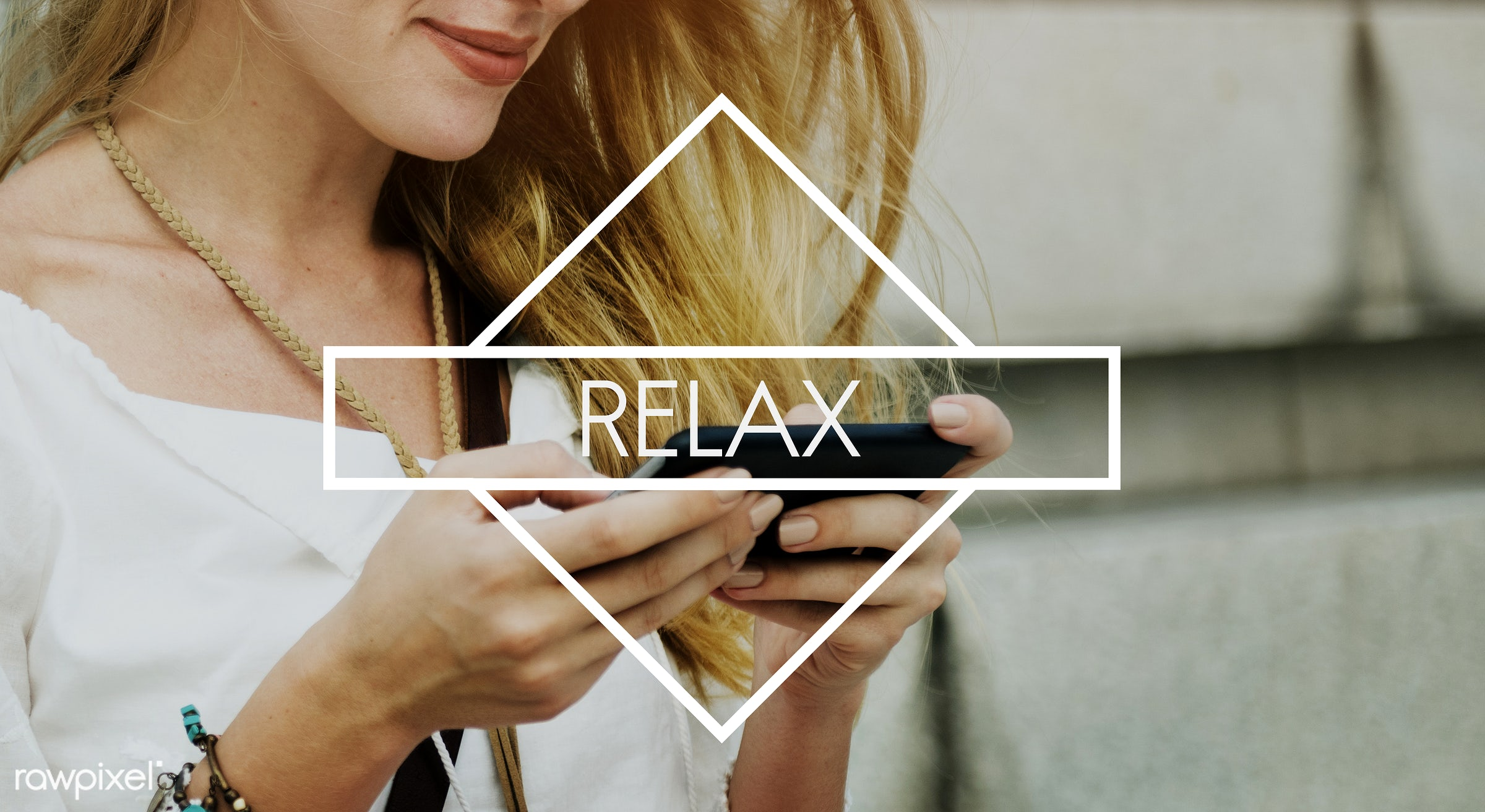 wellness, calm, browsing, chat, chill, chill out, freedom, happiness, leisure, life, meditate, message, mobile phone,...