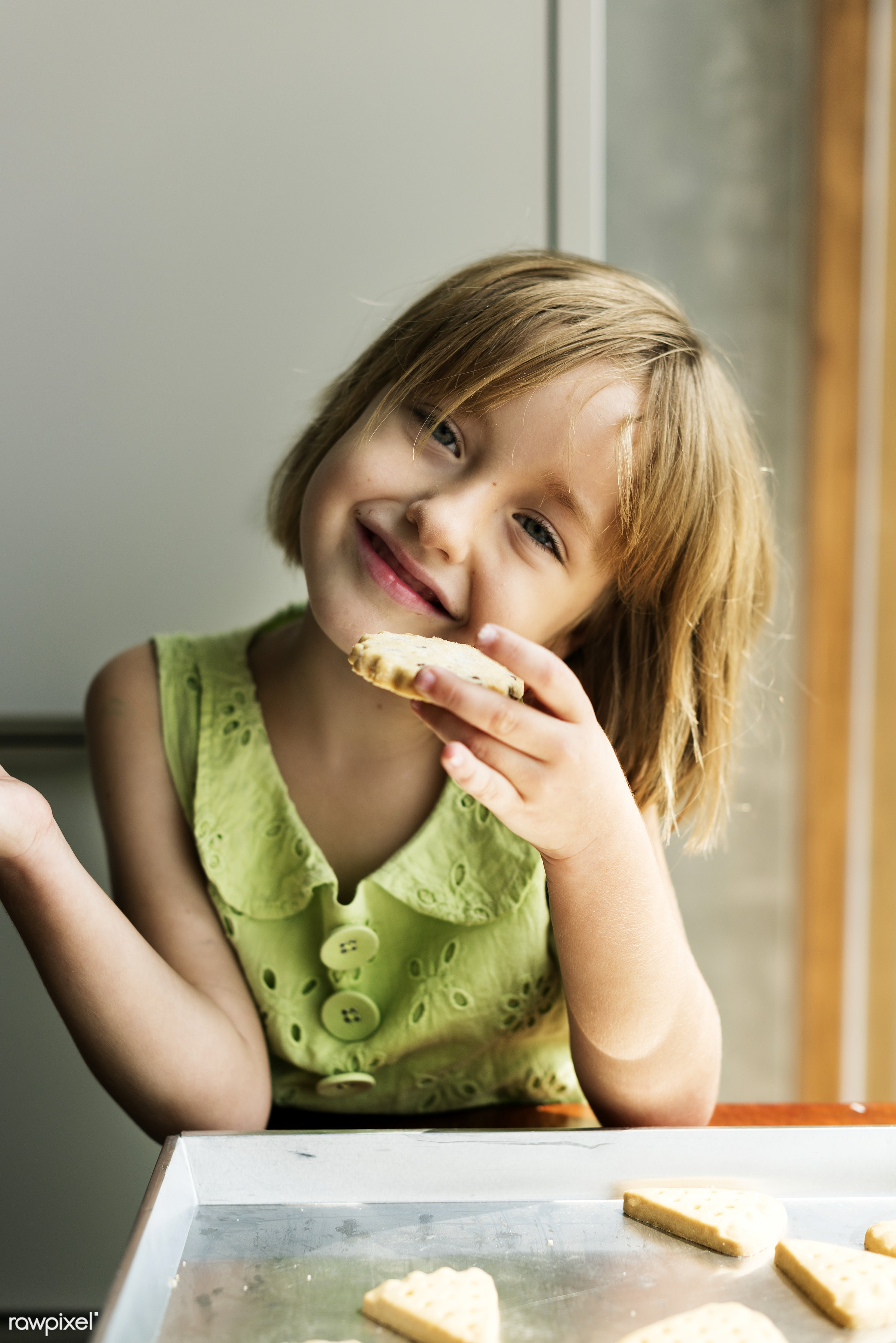 activity, alone, american, bake, baker, bakery, baking, biscuit, blond, caucasian, child, closeup, cookies, daughter,...