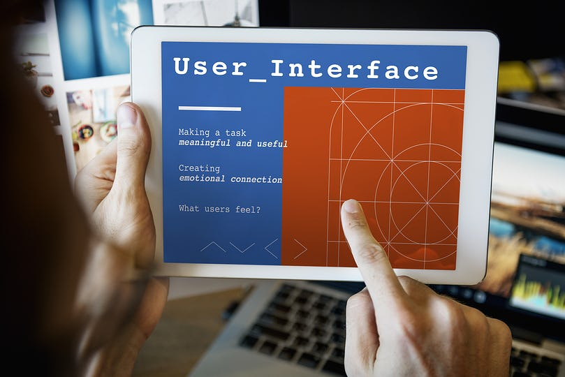 Web Design User Interface Concept