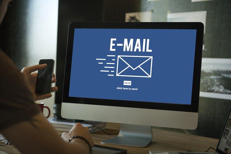 E-mail Correspondence Envelope Icon Concept