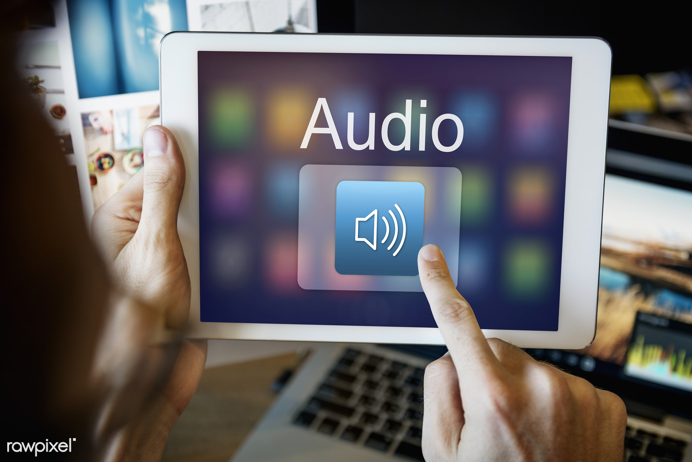 application, audio, broadcast, browsing, connect, connection, creative occupation, desk, digital, digital media, digital...