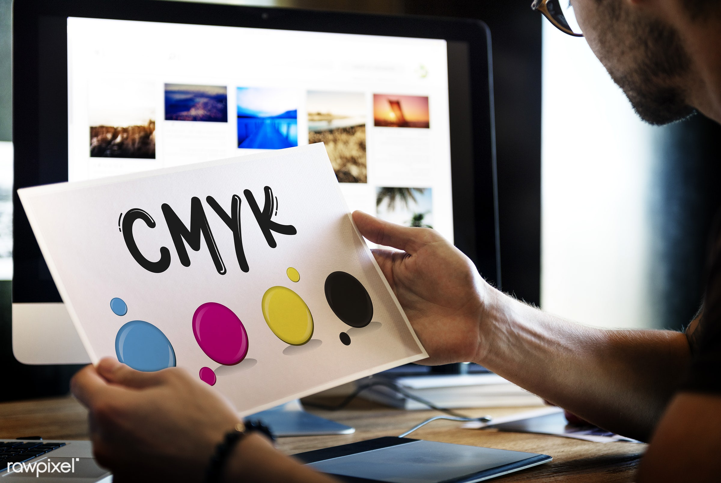 designer, cmyk, color, desk, analysing, color model, color printing, computer, creative, creative occupation, cyan, design,...