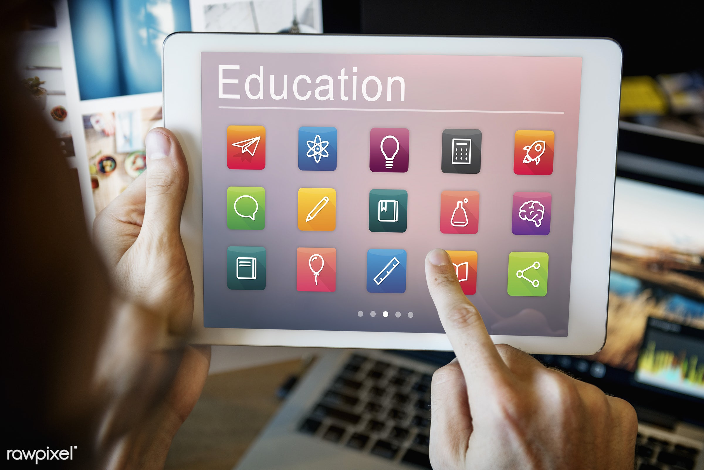 Online education - learning, education, intelligence, academic, academy, application, browsing, connect, connection,...