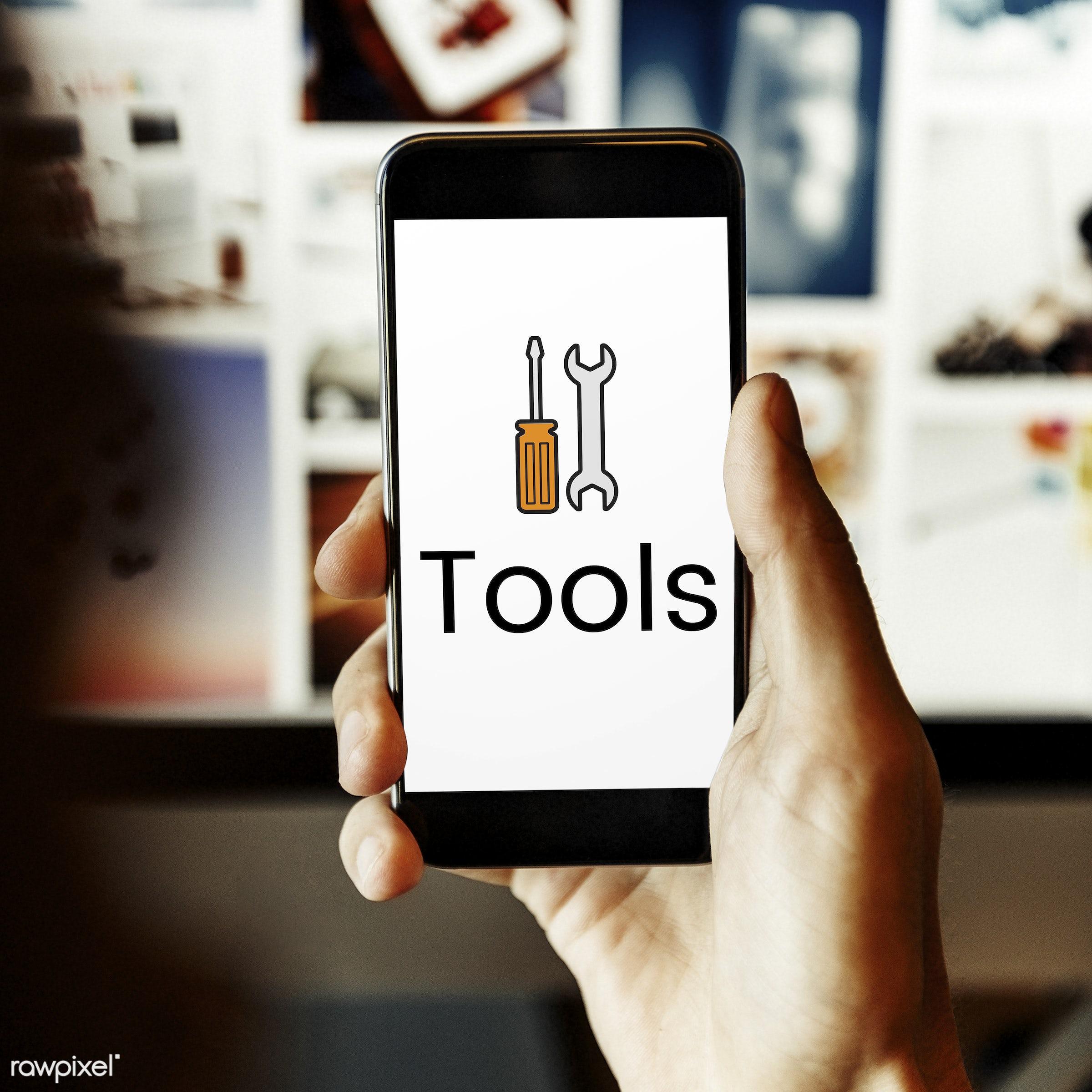 blog, browsing, communication, connect, digital device, element, equipment, graphic, handyman, hardware, icon, instruments,...